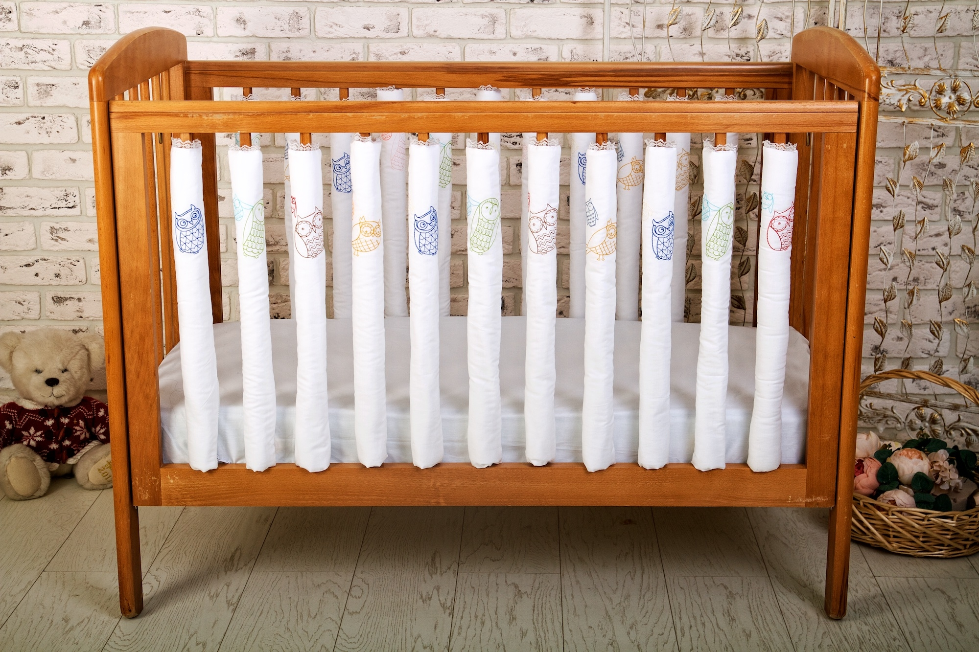 Аксессуары для кроваток Cloud factory Funny Owls 12 шт комплект фенс бамперов cloud factory 12 шт beauty balloons