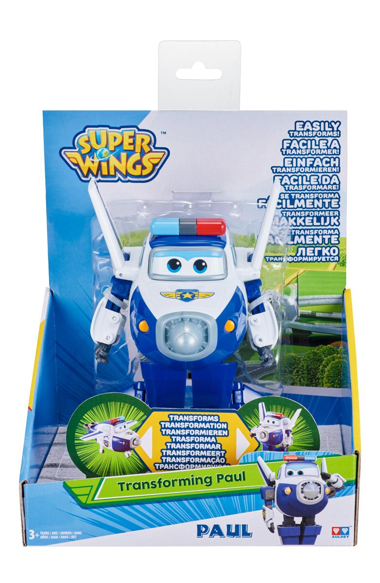 Самолет-трансформер Гулливер Пол робот трансформер супер крылья пол yw710250