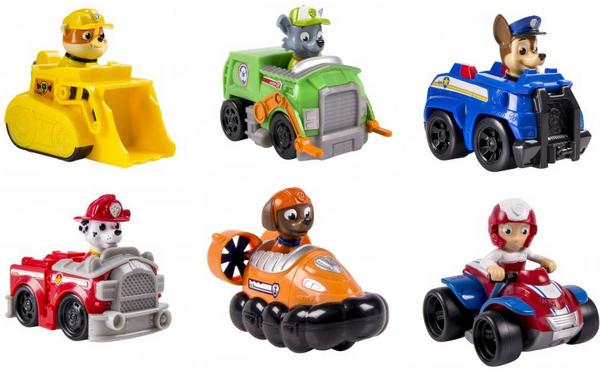 Игровой набор Paw Patrol Игрушка Paw Patrol Маленькая машинка спасателя