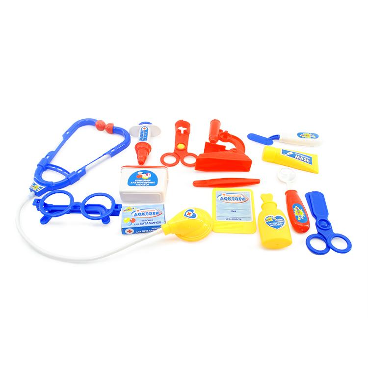 Игровой набор Altacto «Скорая помощь» 14 предметов игровой набор наша игрушка чемоданчик стоматолога 13 предметов