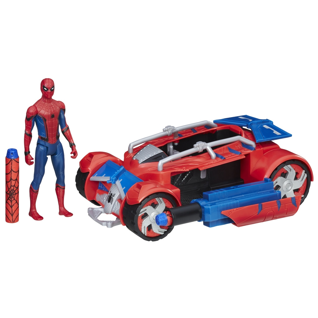 Spider Man Spider-man Игровой набор Spider-man «Паутинный город» 15 см lis 2017 new iron man glove action figure spider man launchers toy kids suitable spider man cosplay costume music and led light