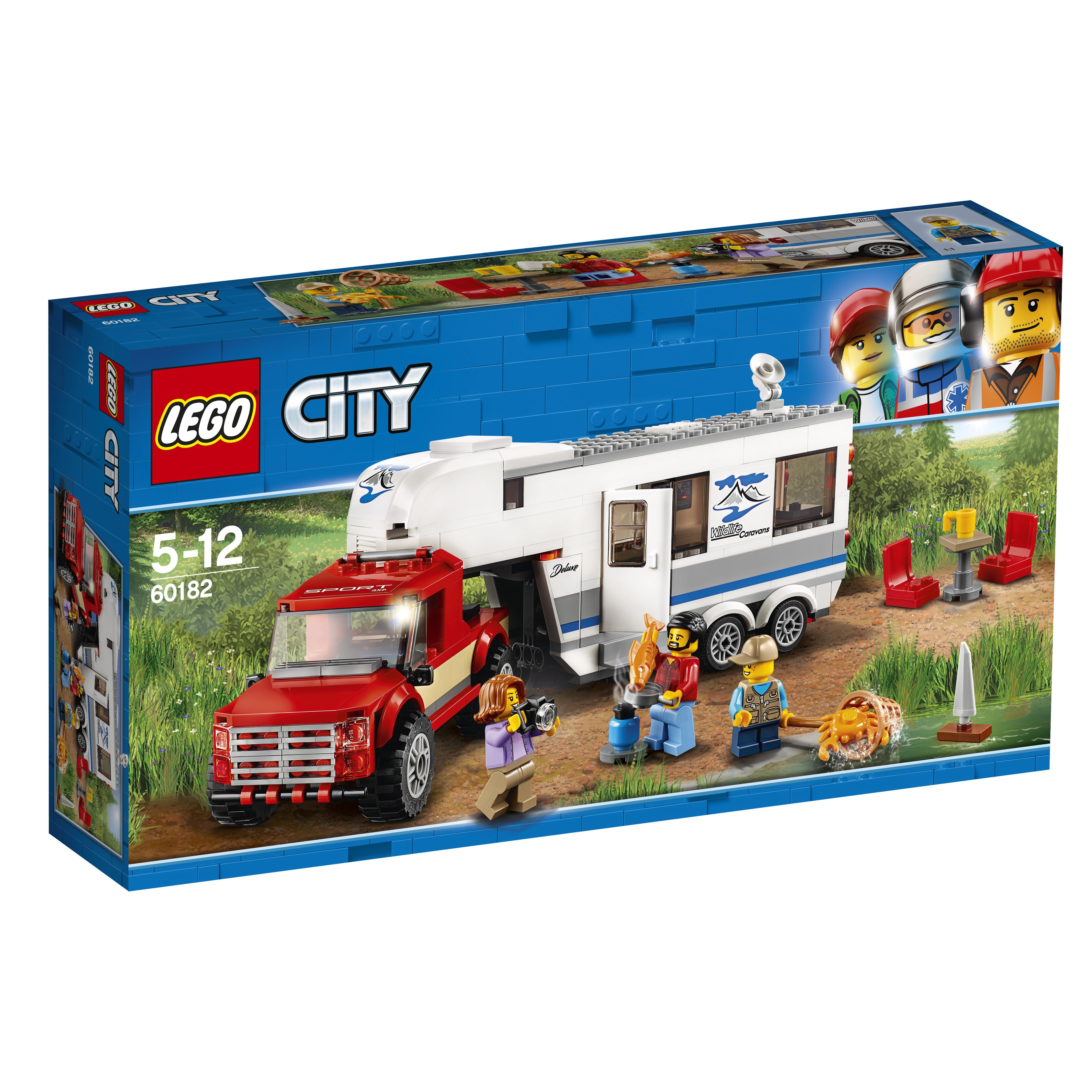 Конструктор LEGO City Great Vehicles 60182 Дом на колесах lego lego city great vehicles 60178 гоночный автомобиль