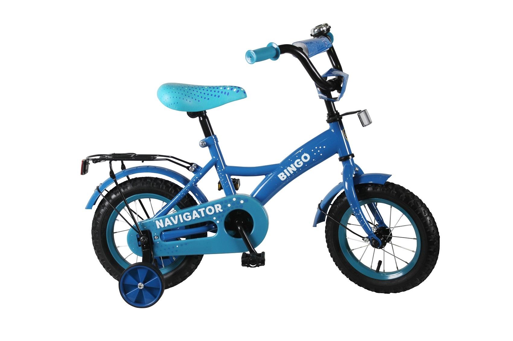 Велосипеды двухколесные Navigator Велосипед двухколесный Navigator «Bingo» 12 голубой