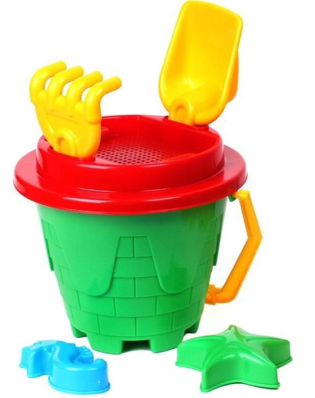 Игрушки для песка TEHNOK Набор для игры с песком Tehnok «Замок» в асс.