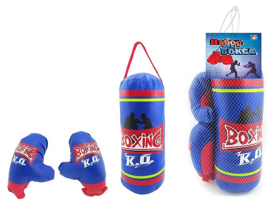 Фото - Активные игры 1toy Набор для бокса 1TOY груша и перчатки набор школьниика barbie
