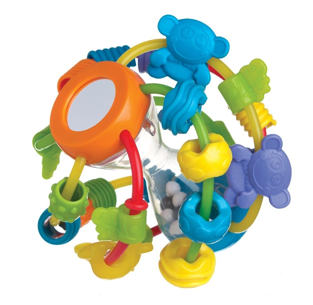 Прорезыватель-погремушка Playgro Шар 4082679
