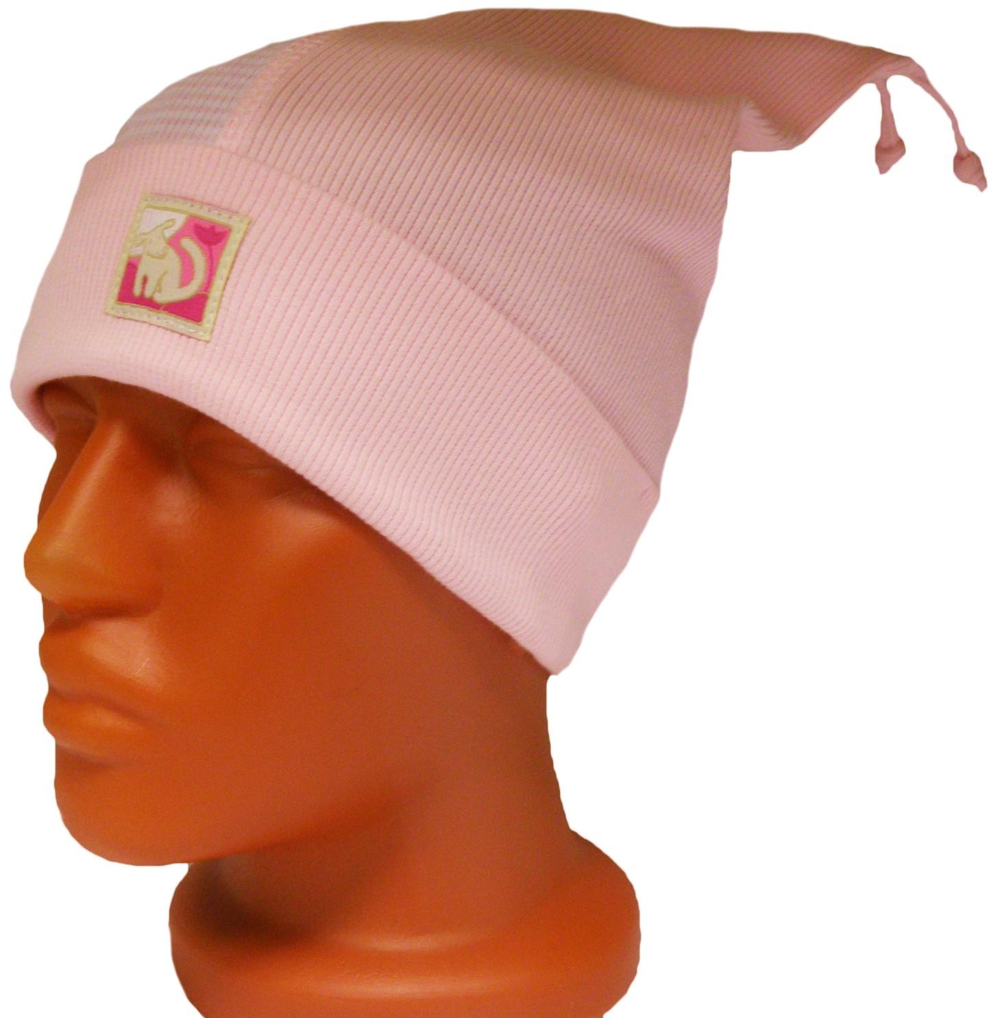 Головные уборы Индиго Шапка Индиго Розовая, полоска ткань magic girl pink полоска розовая