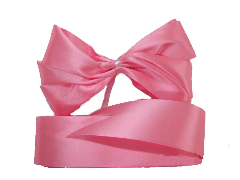 Комплект из атласных лент на выписку Арго 0100/ЛР розовые супермамкет конверт на выписку justcute совы роз лето бант jcl sov r bt