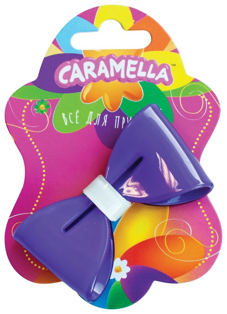 Украшения CARAMELLA Заколка для волос Caramella «Бантик» фиолетовый с белым заколка для волос caramella бантик ярко розовые 2 шт