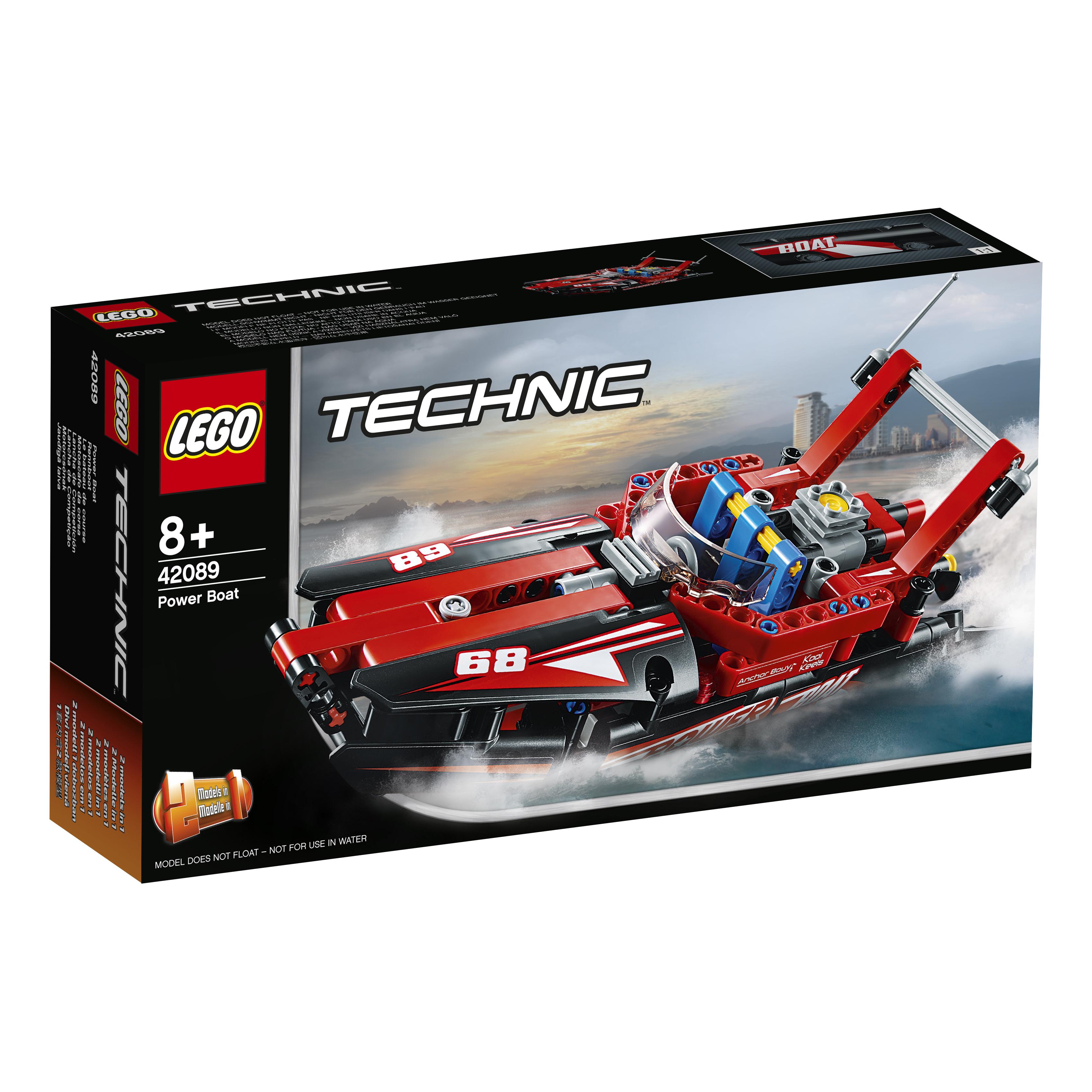 Technic 42089 Моторная лодка