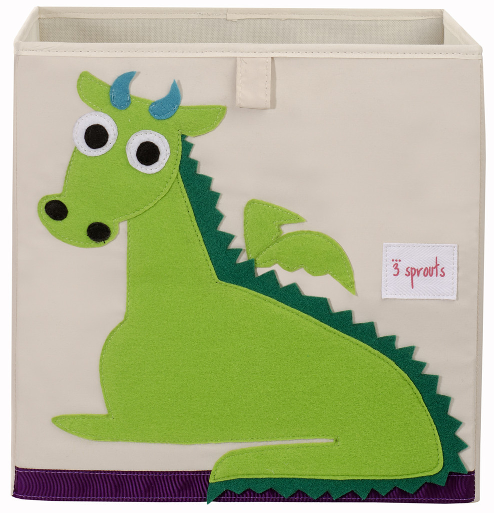 Ящики и корзины для игрушек 3 Sprouts «Green Dragon»