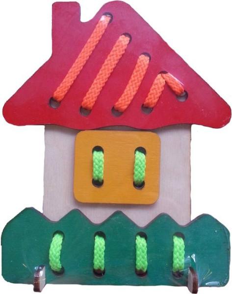 Деревянные игрушки Мастер Вуд Домик