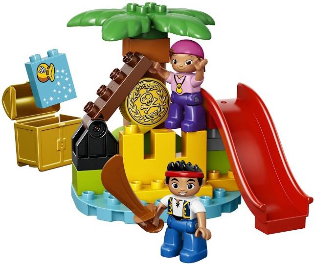 Фото - LEGO DUPLO LEGO Duplo Остров сокровищ (10604) f gattien 10604 204ч