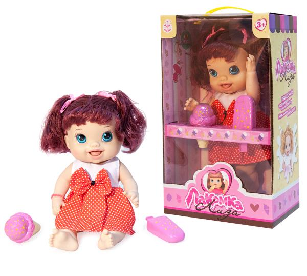 Другие куклы 1toy Лакомка Лиза красноволосая с хвостиками лиза