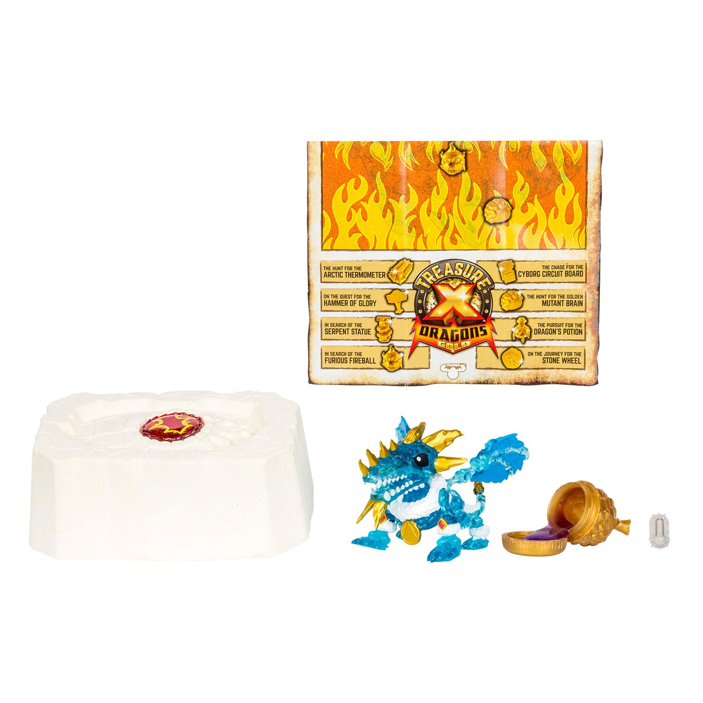 Игровой набор Moose Treasure X «Золото драконов» дракон и сокровище 41508 игра moose шопкинс шопис путешествие в европу 56804