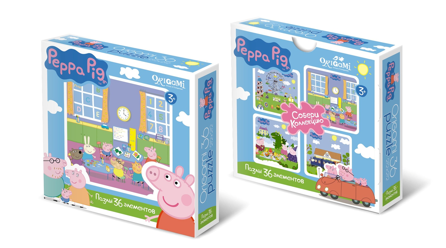 Пазлы Peppa Pig Детский сад