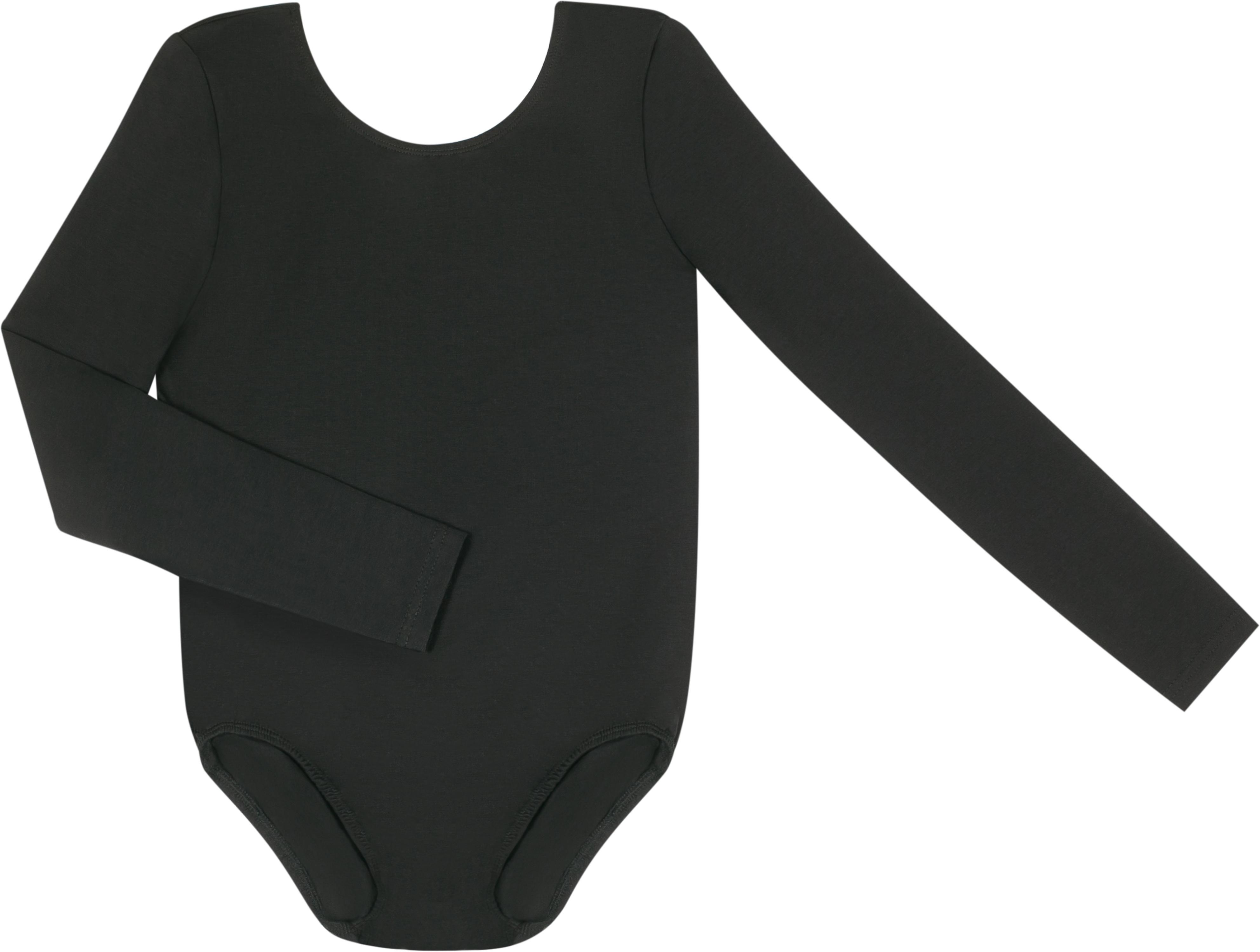Купальник гимнастический для девочки Barkito Черный