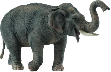 Фигурки животных Collecta Фигурка Collecta «Азиатский слон» 15 см игровые фигурки sonic boom фигурка наклз 7 5 см
