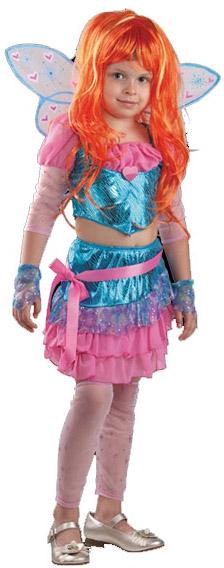 Костюмы и маски Батик Блум р.34 детский костюм золушки из фильма 34 38