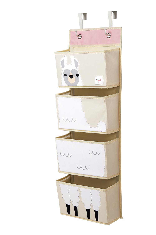 Купить Органайзер на стен, White Llama, 1шт., 3 Sprouts 00063, Китай, белый с розовым