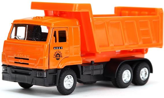 Машинка Технопарк Камаз-самосвал технопарк набор машинок мусоровоз и самосвал камаз