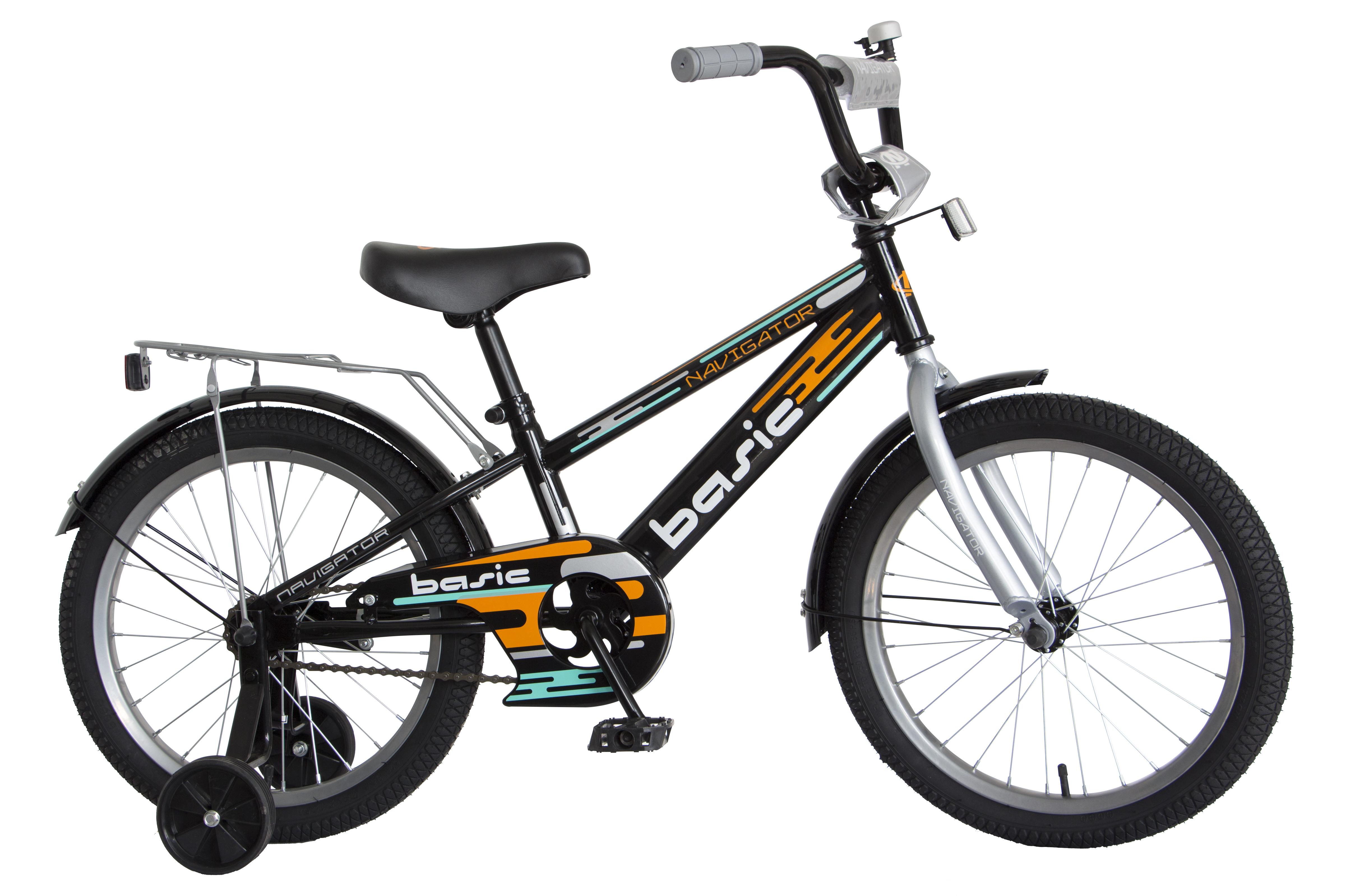 Велосипед двухколесный Navigator Basic 18 черный