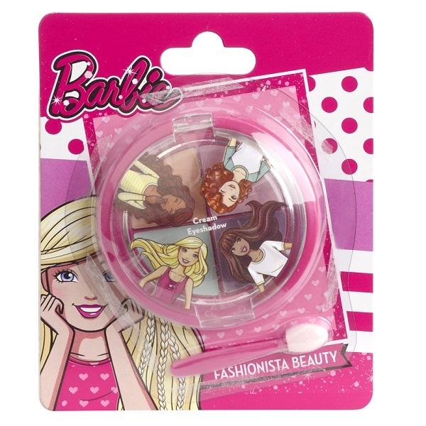 Декоративная косметика Markwins Набор декоративной косметики для глаз Markwins «Barbie» markwins barbie большой набор декоративной косметики в кейсе