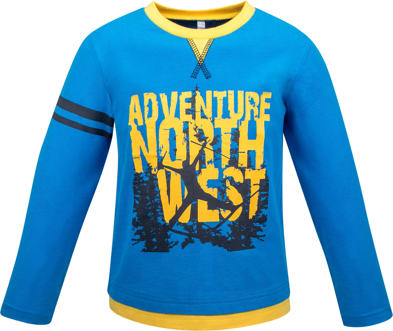 Футболка с длинным рукавом Barkito Сноубординг футболки barkito футболка с длинным рукавом для мальчика barkito монстр трак темно синяя