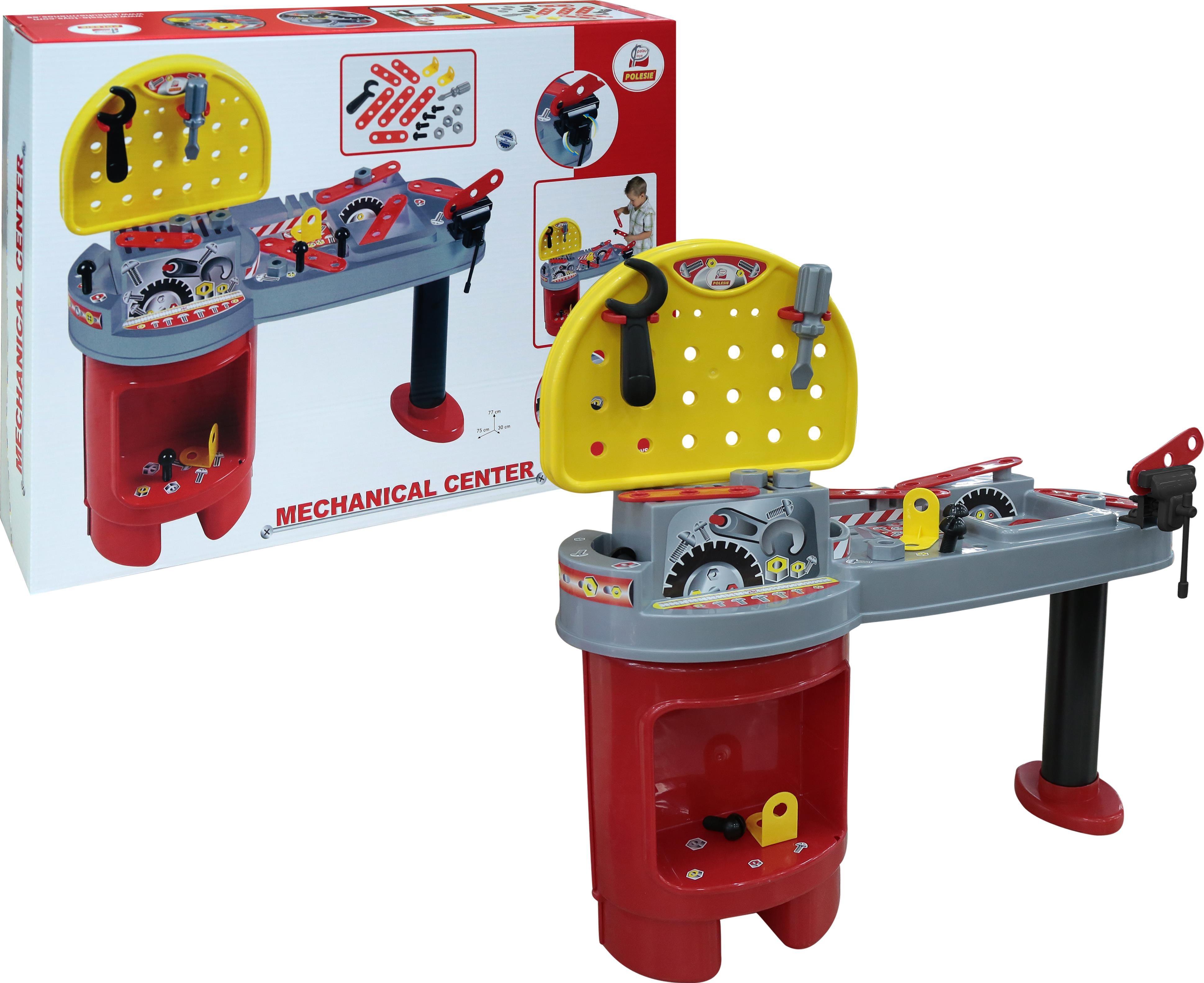 Наборы игрушечных инструментов Полесье Механик-мега цена и фото