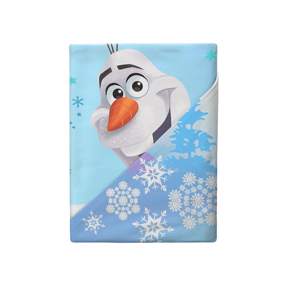 цена Постельные принадлежности Disney Комплект постельного белья Disney «Олаф» наволочка 50х70 см