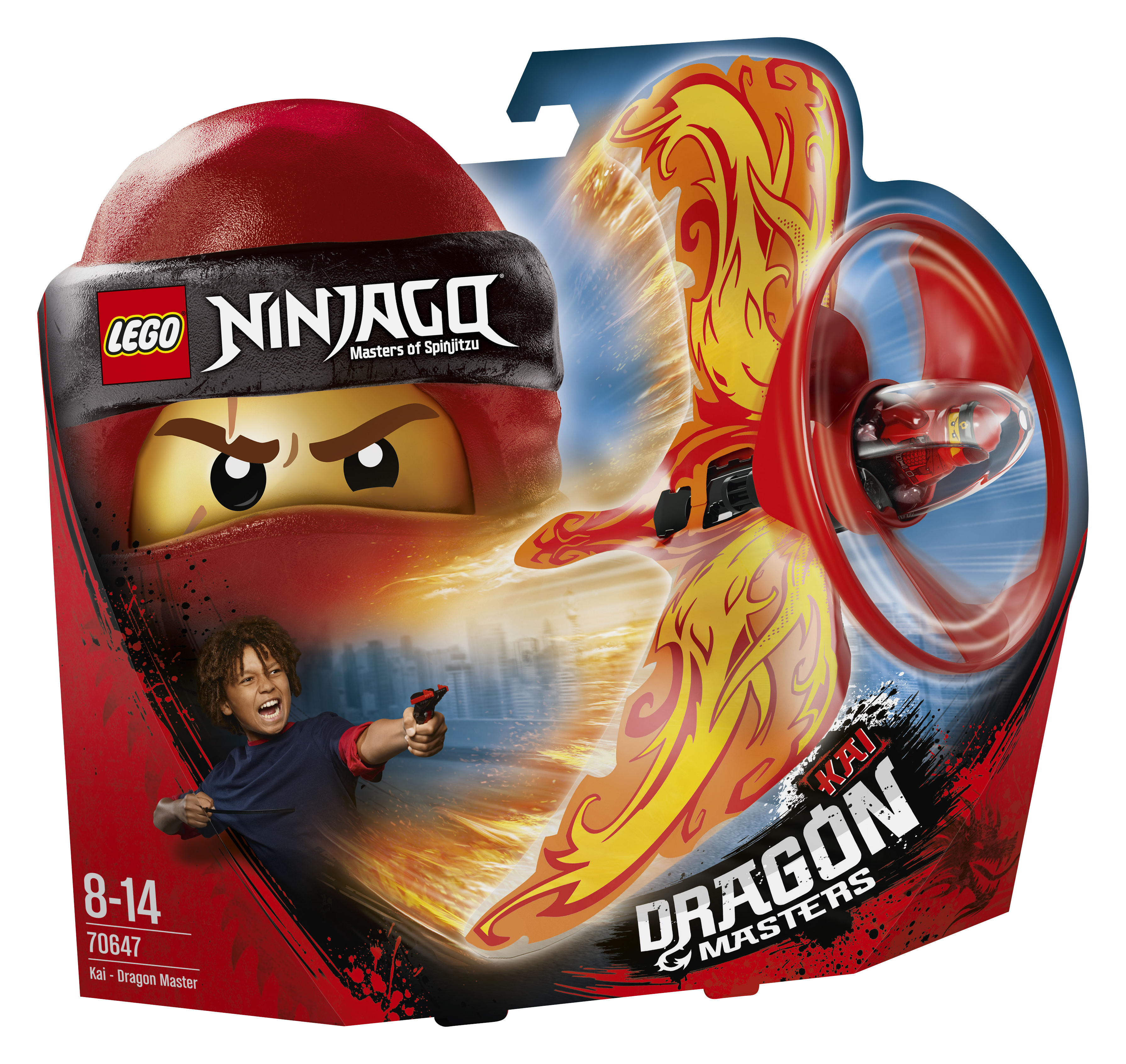 Конструктор LEGO Кай-Мастер дракона конструктор lego elves 41178 логово дракона