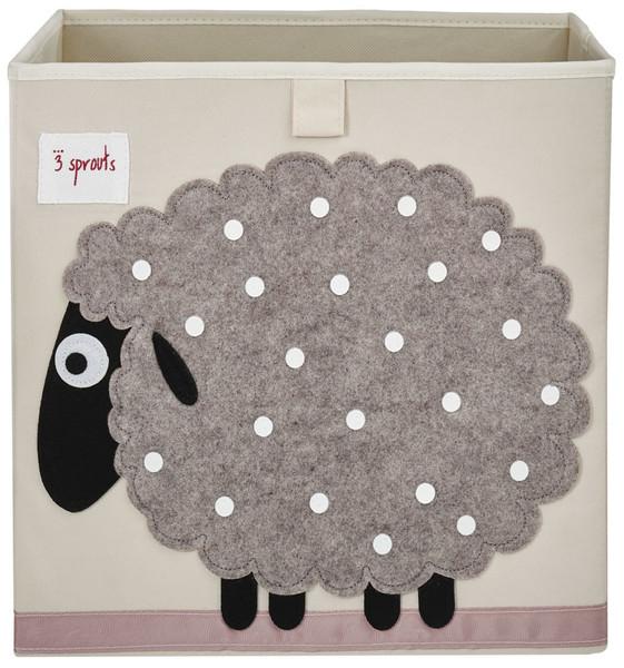 Ящики и корзины для игрушек 3 Sprouts «Beige Sheep»