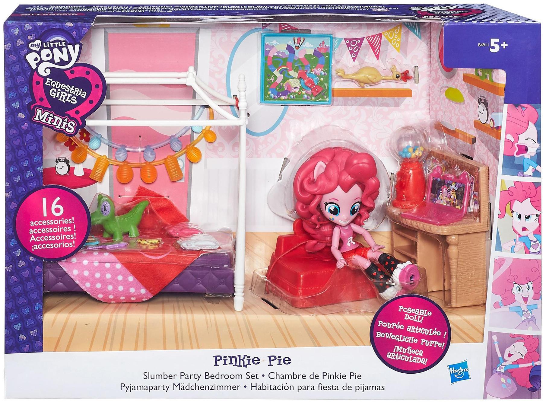 Игровой набор Hasbro Пижамная вечеринка hasbro игровой набор с мини куклой equestria girls пижамная вечеринка пляжный спорт рэйнбоу дэш