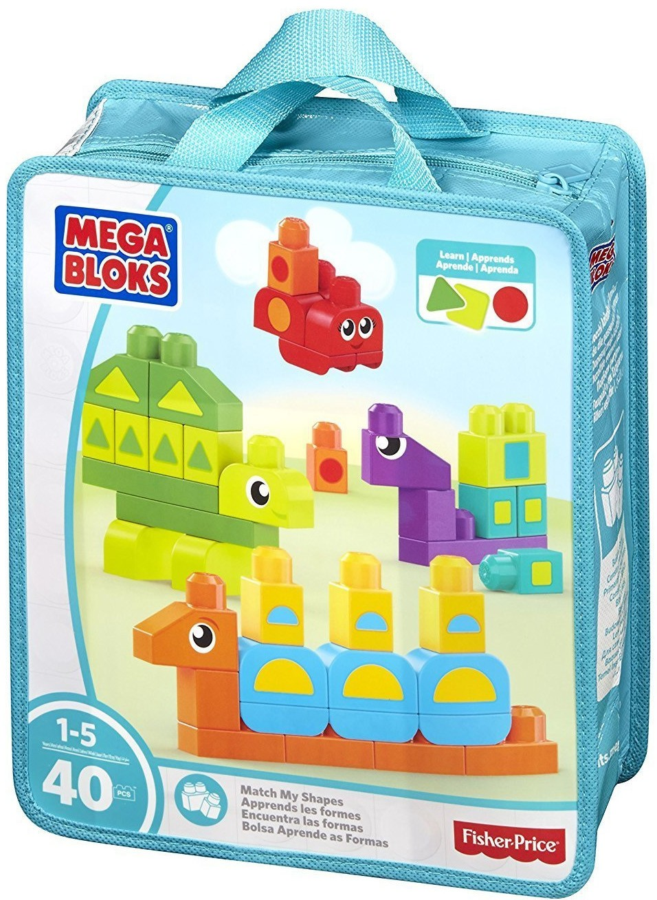 Конструктор Fisher Price Найди фигуры fisher price кубики блоки паровозики