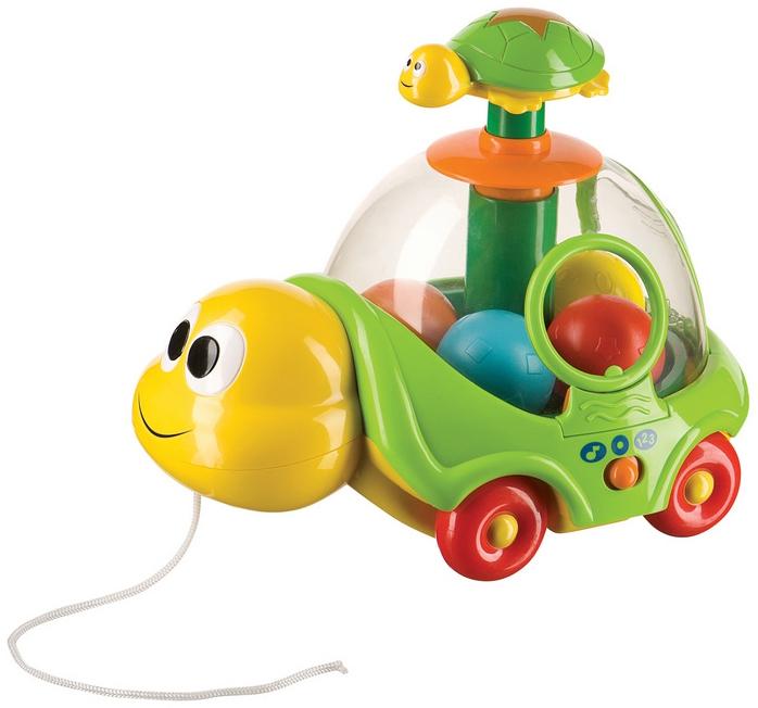 Неваляшки и юлы Happy baby Игрушка-каталка Happy baby «IQ-Turtle» happy baby игрушка каталка speedy hedgehog