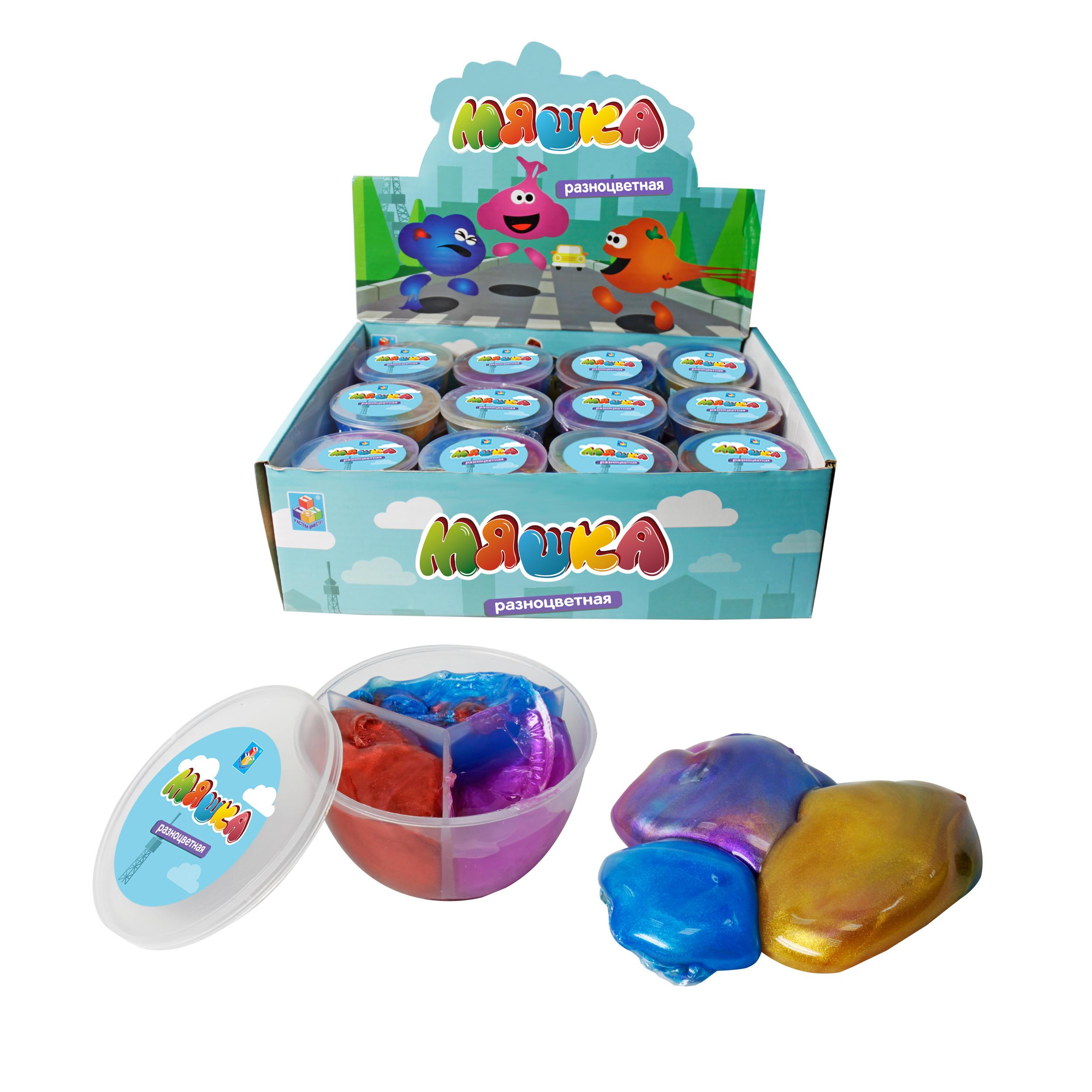 Мяшка 1toy Мелкие пакости наборы для творчества 1toy мяшка 1тoy мелкие пакости яйцо двухцветное 50 г