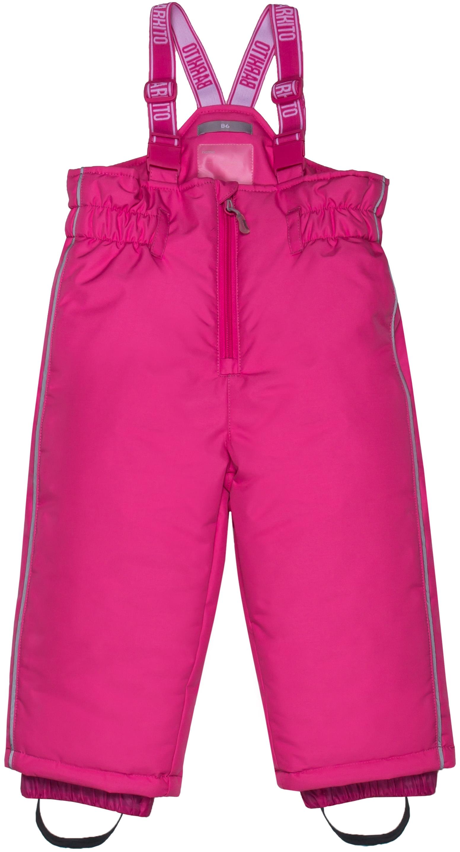 Полукомбинезон Barkito Для девочки розовый полукомбинезон barkito детский
