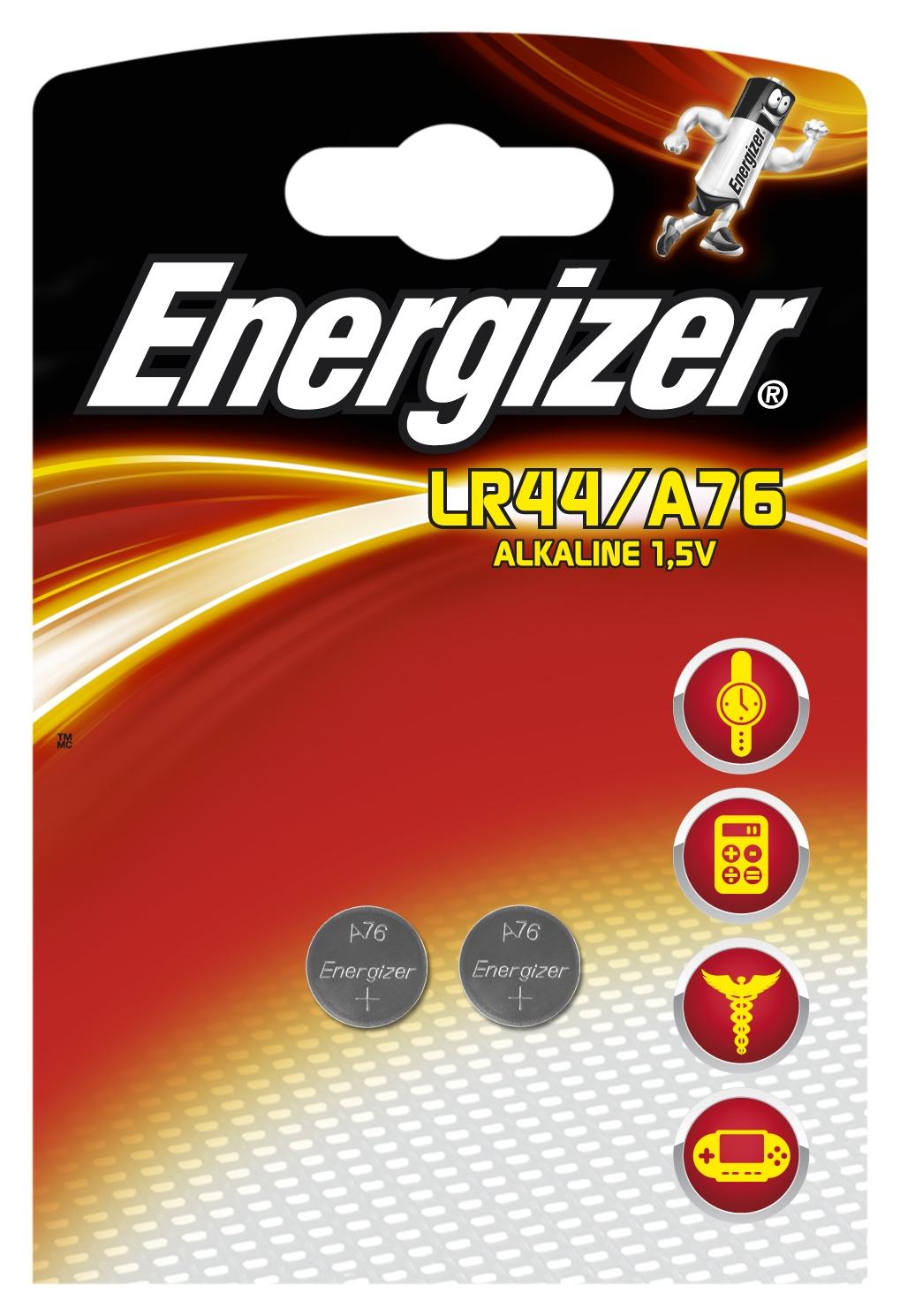 Элемент питания Energizer Alkaline LR44 2 (2 шт.) lr1 e90 energizer alkaline 1 штука