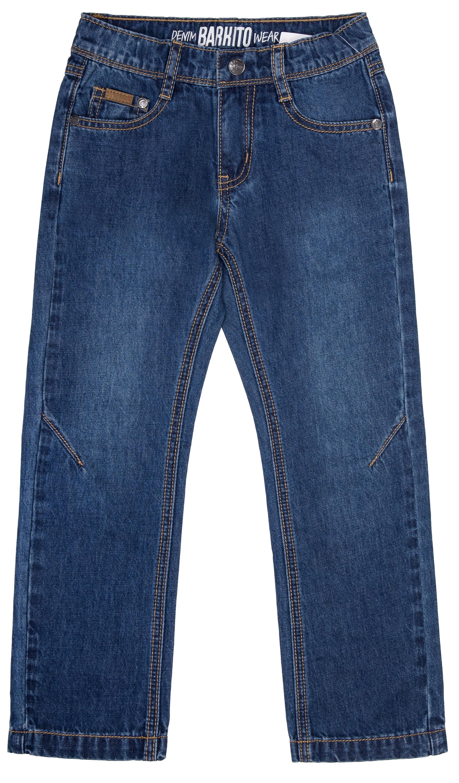 Джинсы для мальчика Barkito Синие джинсы barkito джинсы для мальчика barkito строитель синие