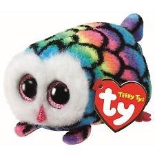 Мягкие игрушки TY Мягкая игрушка TY «Сова Hootie» 9 см разноцветная бандана m wave полиэстер с микрофиброй jamaica разноцветная 24х48 см 5 715188
