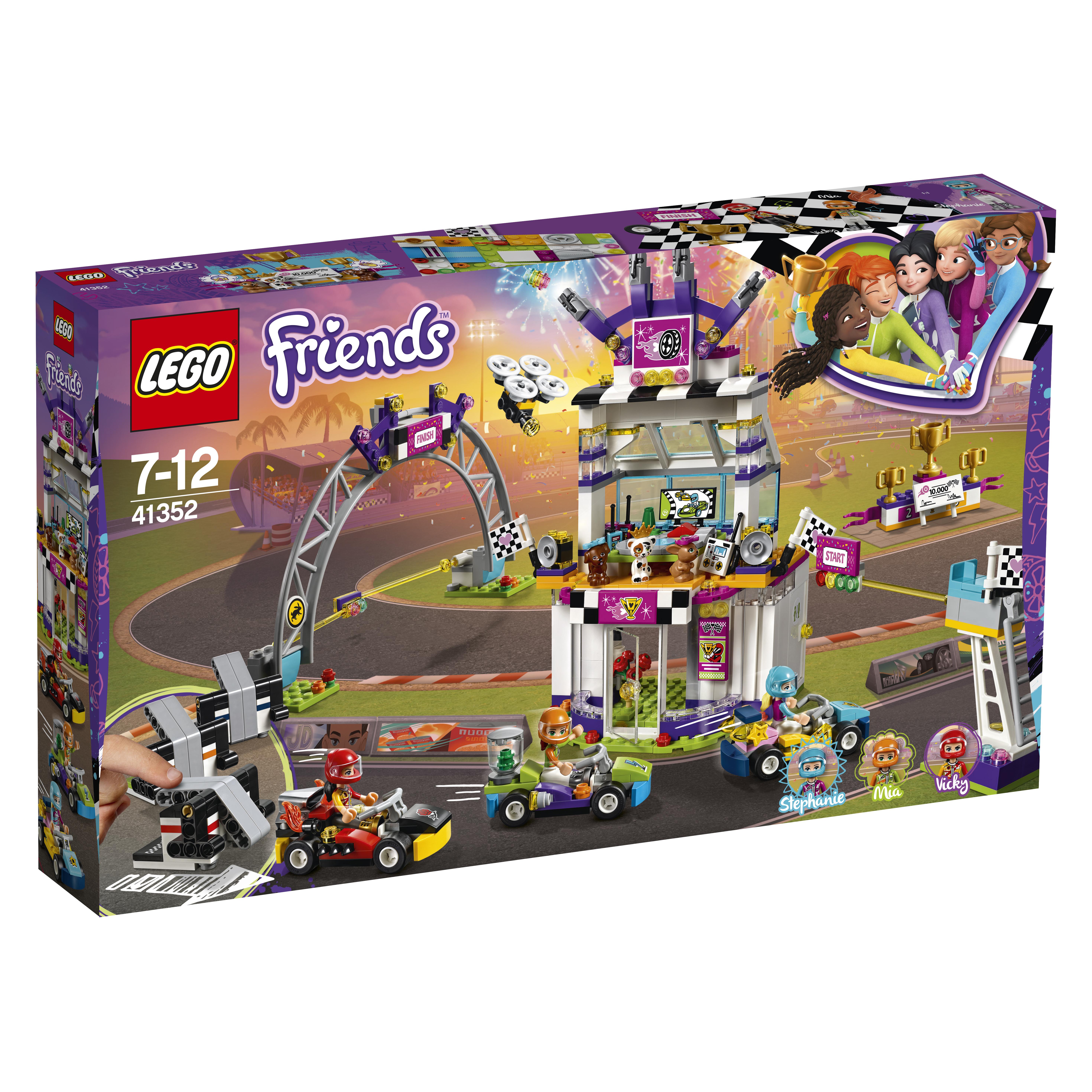 LEGO LEGO Конструктор LEGO Friends 41352 Большая гонка конструктор ausini гонка формула чемпионов спорткар 170дет
