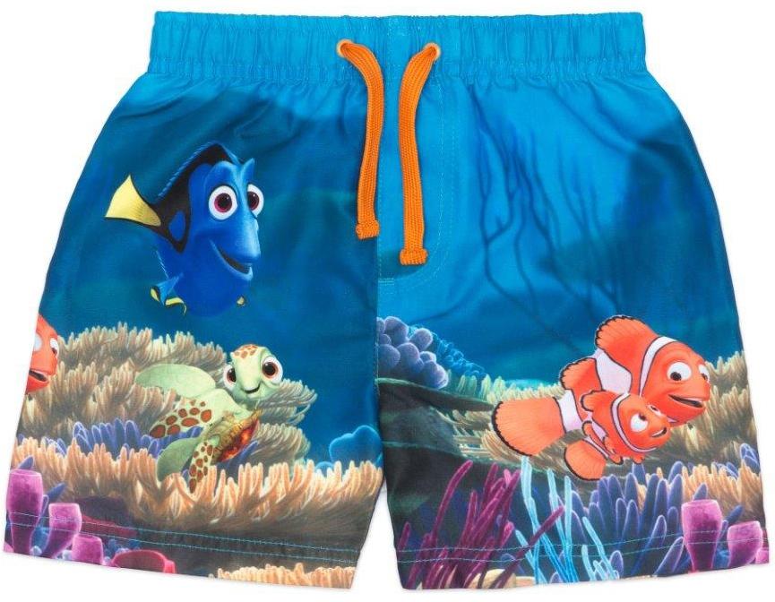 Трусы-шорты купальные для мальчика Finding Nemo Бирюзовые