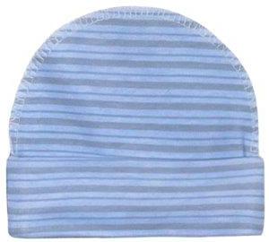 Купить Головные уборы, Шапка для мальчика Barkito, серо-голубая в полоску, Россия, серо-голубой в полоску, Мужской