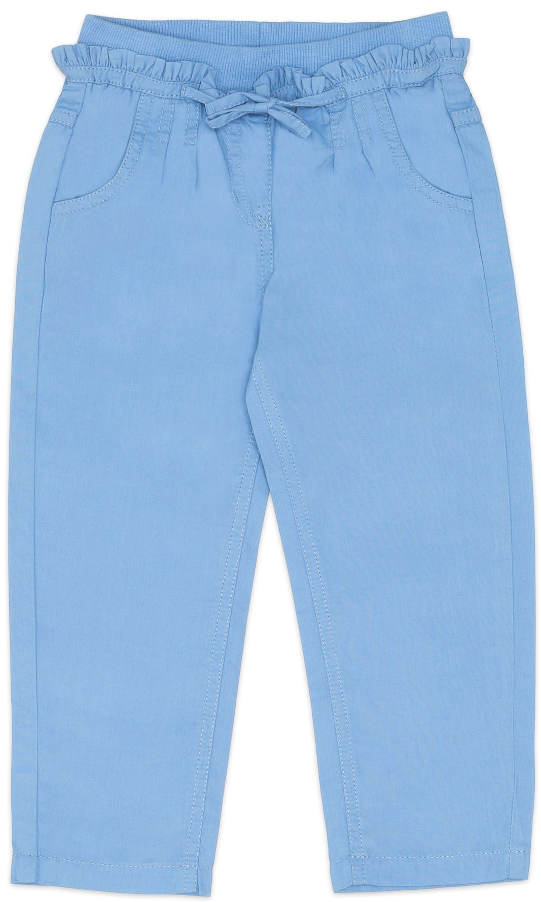 Брюки Barkito Брюки для девочки Barkito, У синего-синего моря, голубые брюки barkito салатовая