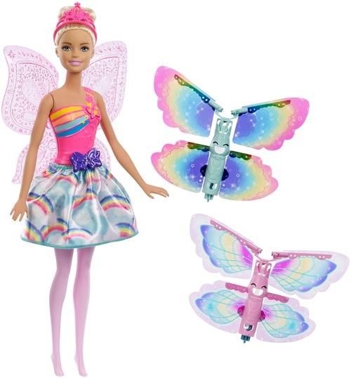 Barbie Barbie Фея с летающими крыльями барби barbie barbie кукла barbie фея с летающими крыльями