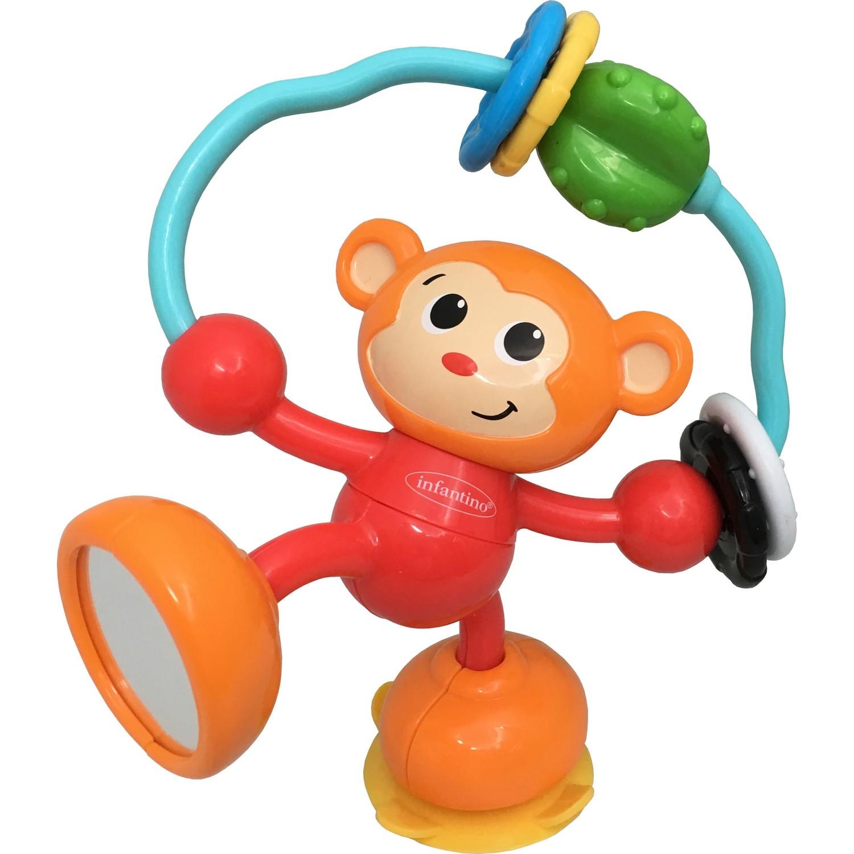 Развивающая игрушка Infantino «Забавная мартышка» развивающая игрушка lorelli toys обними меня мартышка 10191260001