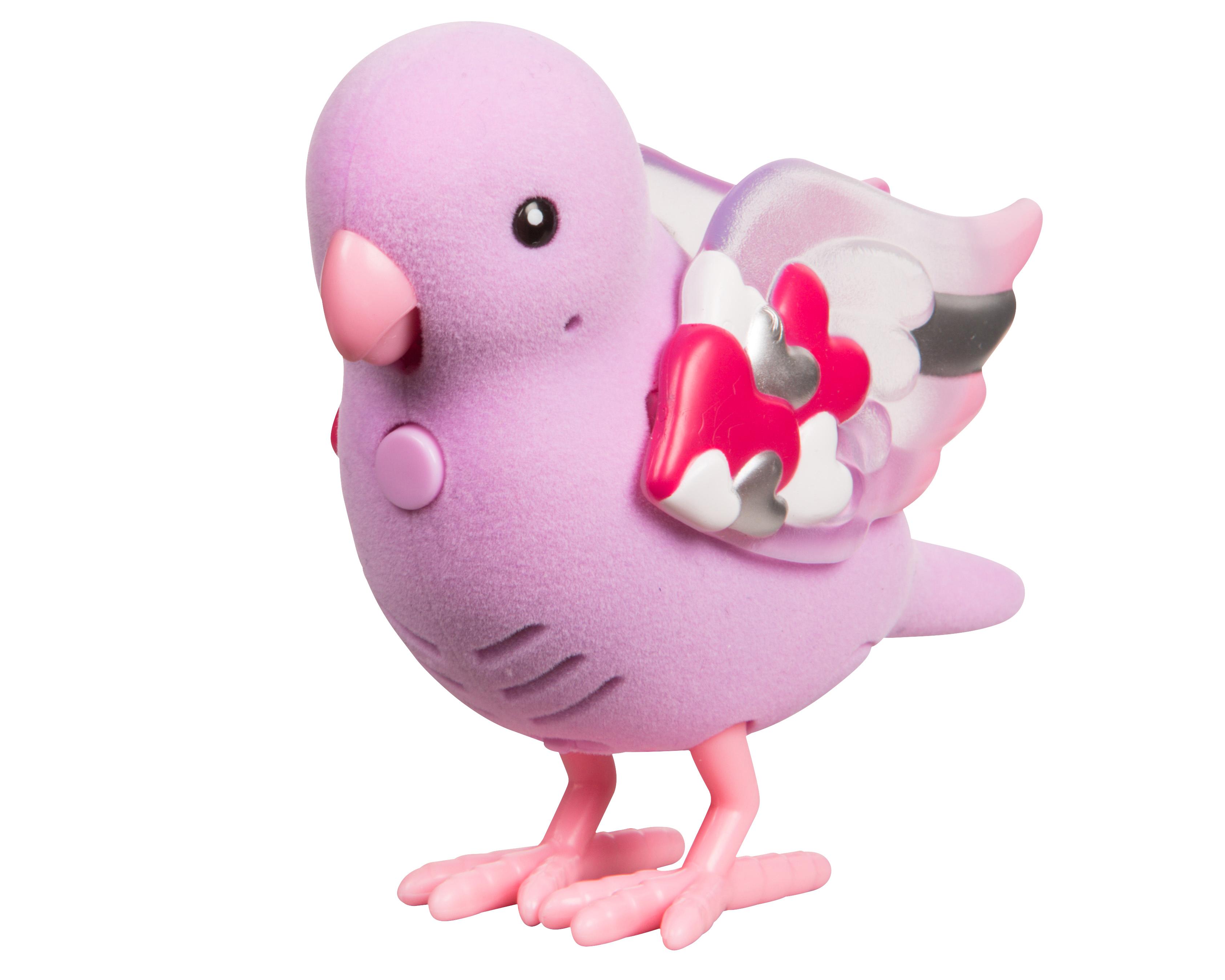 Птичка Moose Лучик Сердца digibirds интерактивная игрушка птичка lacy