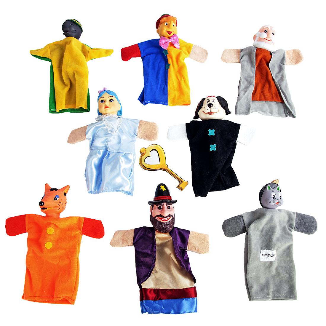 Развивающие игрушки Жирафики Кукольный театр  «Буратино» 8