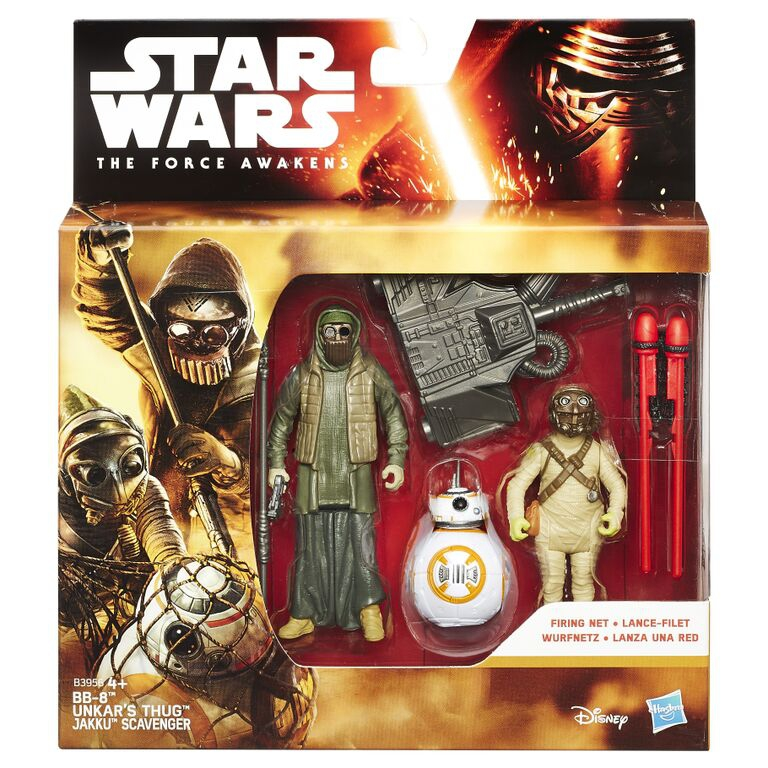 Star Wars STAR WARS Набор из двух фигурок Звездных войн 9,5 см ролевые игры star wars маска штурмовика первого порядка из звездных войн