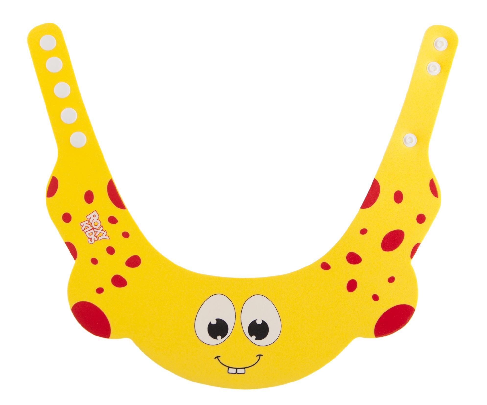 Другие товары Roxy-kids Козырек защитный Roxy-kids для мытья головы желтый
